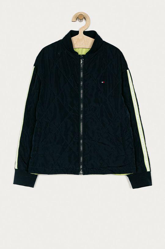 Tommy Hilfiger - Detská obojstranná bunda 140-176 cm  Výplň: 100% Polyester Základná látka: 100% Polyester Elastická manžeta: 2% Elastan, 98% Polyester