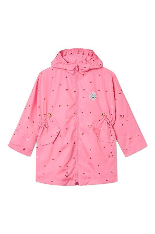 różowy Femi Stories - Parka dziecięca Jill 116-158 cm Dziewczęcy
