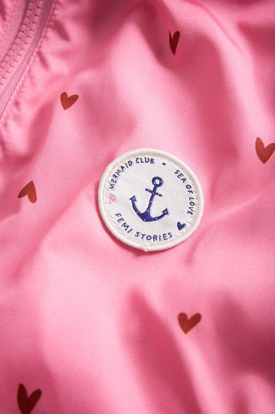 Femi Stories - Parka dziecięca Jill 116-158 cm różowy