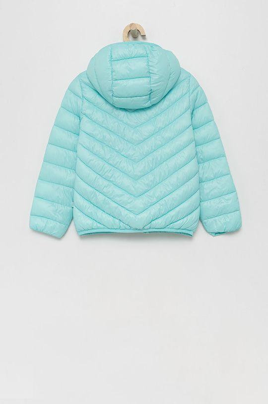 United Colors of Benetton - Dětská bunda tyrkysová