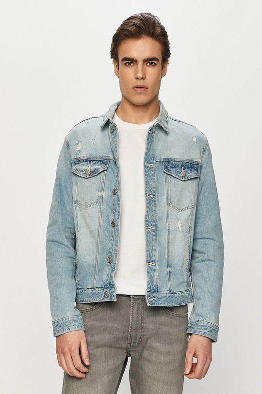 albastru deschis s. Oliver - Geaca jeans De bărbați
