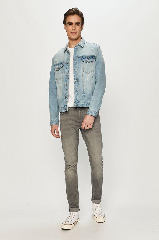 s. Oliver - Geaca jeans albastru deschis
