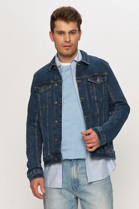 námořnická modř Tom Tailor - Džínová bunda Pánský