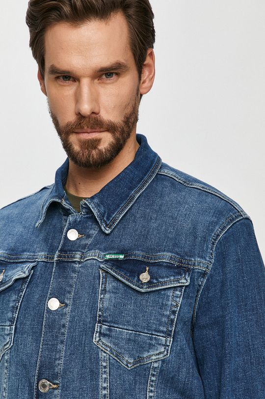 modrá Guess - Džínová bunda