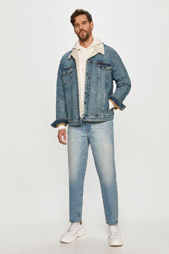 Levi's - Geaca jeans albastru