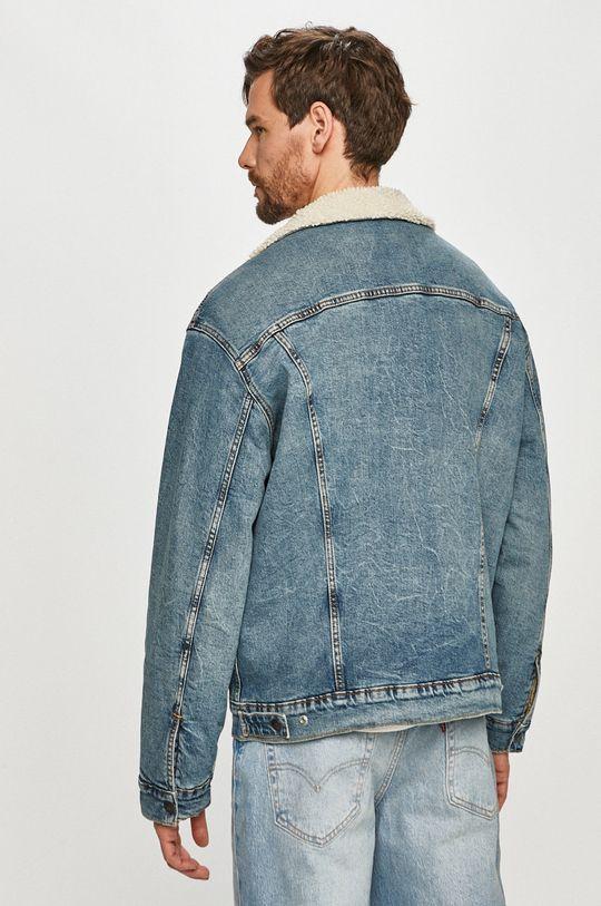Levi's - Geaca jeans  Captuseala: 100% Poliester  Materialul de baza: 70% Bumbac, 2% Elastan, 28% Lyocell