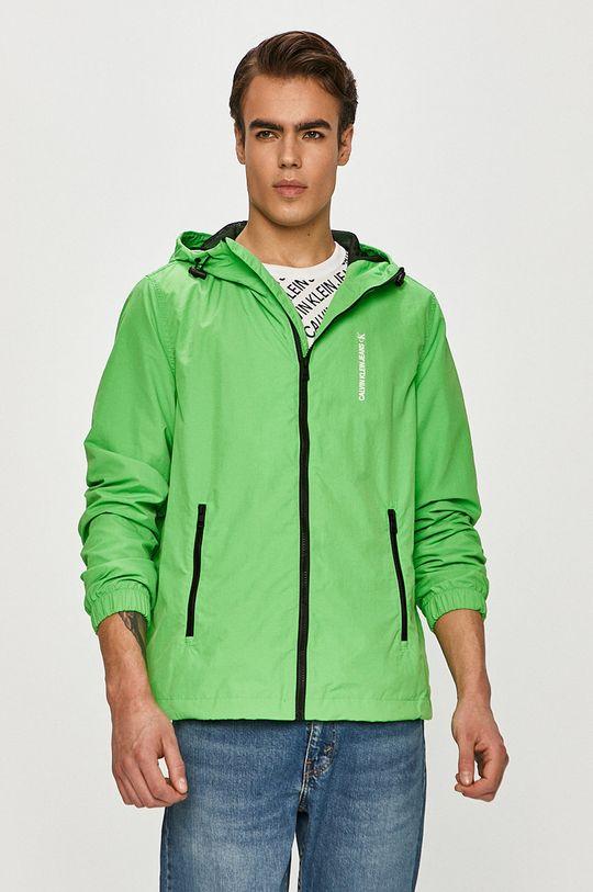 zelená Calvin Klein Jeans - Bunda Pánsky