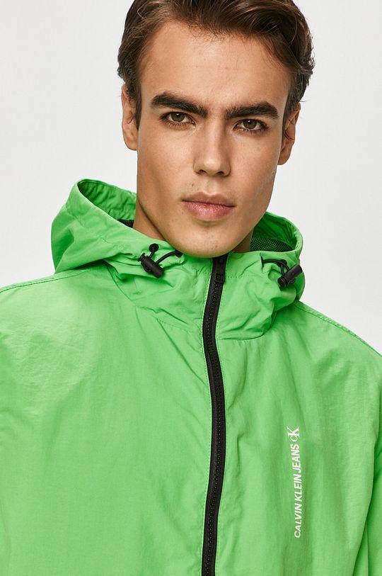 zelená Calvin Klein Jeans - Bunda