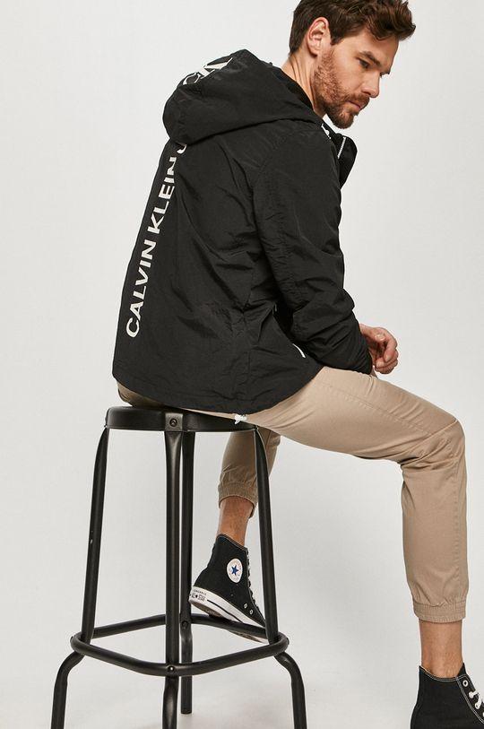 czarny Calvin Klein Jeans - Kurtka Męski