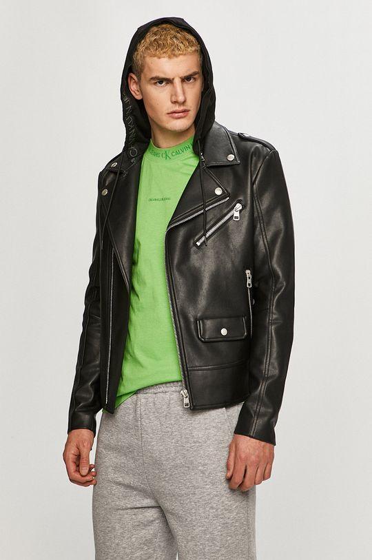 negru Calvin Klein Jeans - Geaca ramones De bărbați