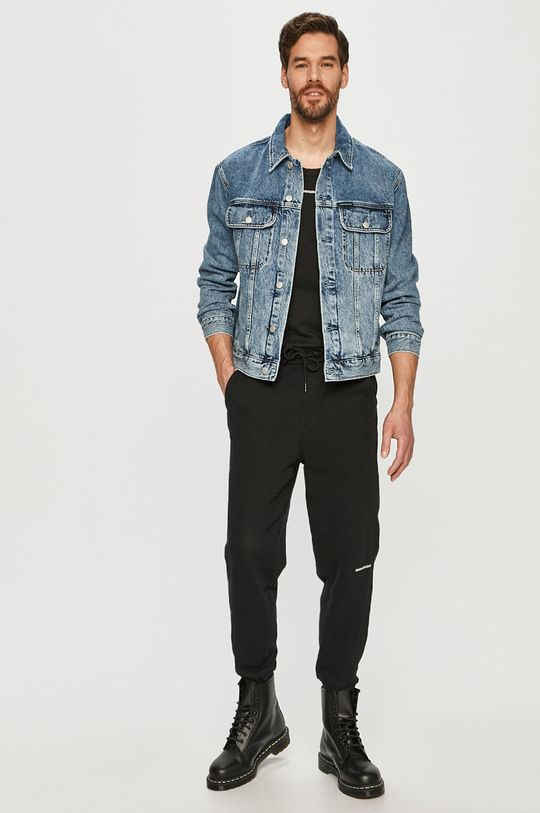 Calvin Klein Jeans - Džínová bunda modrá
