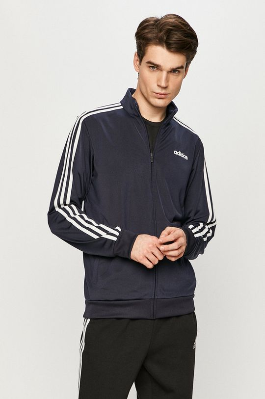 granatowy adidas - Bluza Męski