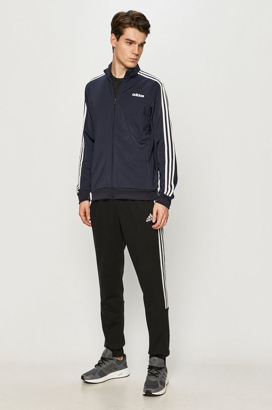 adidas - Bluza granatowy