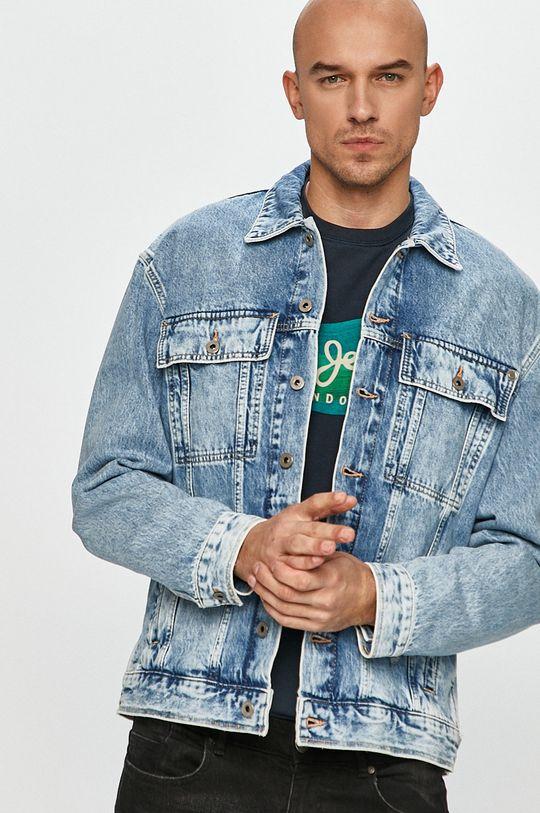 modrá Pepe Jeans - Džínová bunda Young Pánský