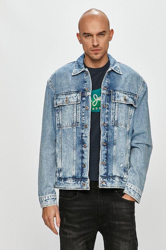 modrá Pepe Jeans - Džínová bunda Young