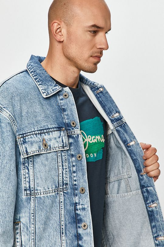 Pepe Jeans - Džínová bunda Young