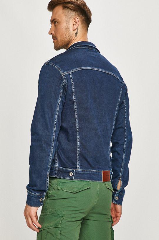 Pepe Jeans - Kurtka jeansowa Pinner 72 % Bawełna, 2 % Elastan, 12 % Poliester, 14 % Wiskoza