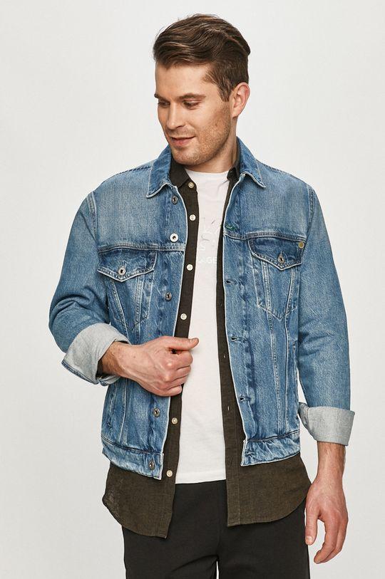 niebieski Pepe Jeans - Kurtka jeansowa Pinner Męski