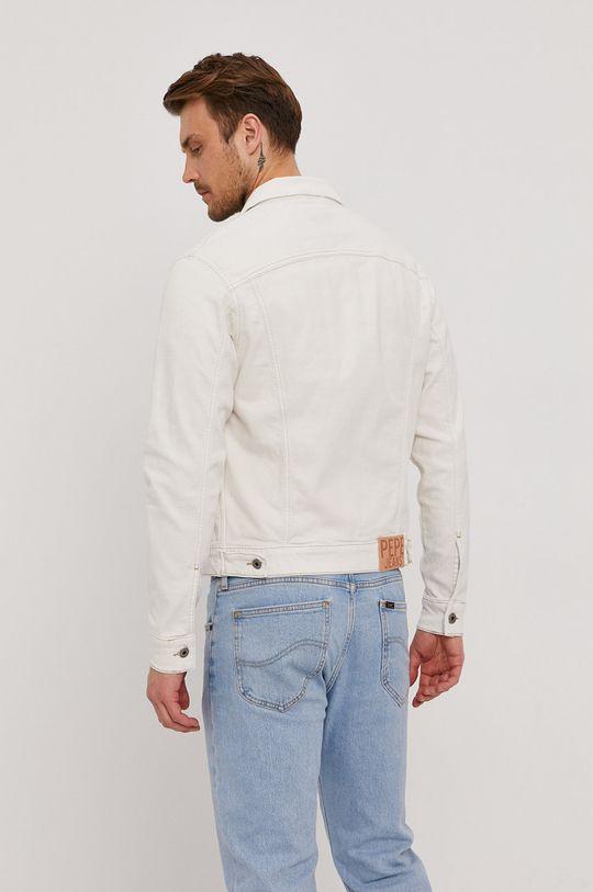 Pepe Jeans - Kurtka jeansowa Pinner 93 % Bawełna, 2 % Elastan, 5 % Poliester