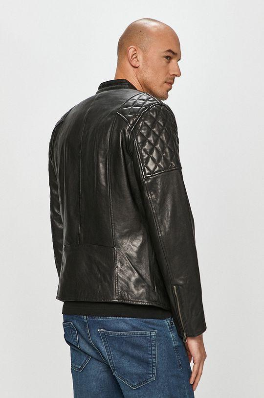 Pepe Jeans - Kožená bunda Donnie  100% Přírodní kůže