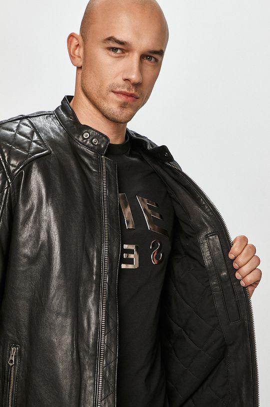 Pepe Jeans - Kožená bunda Donnie