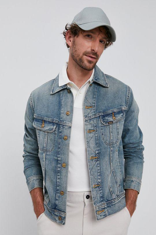 modrá Polo Ralph Lauren - Džínová bunda Pánský