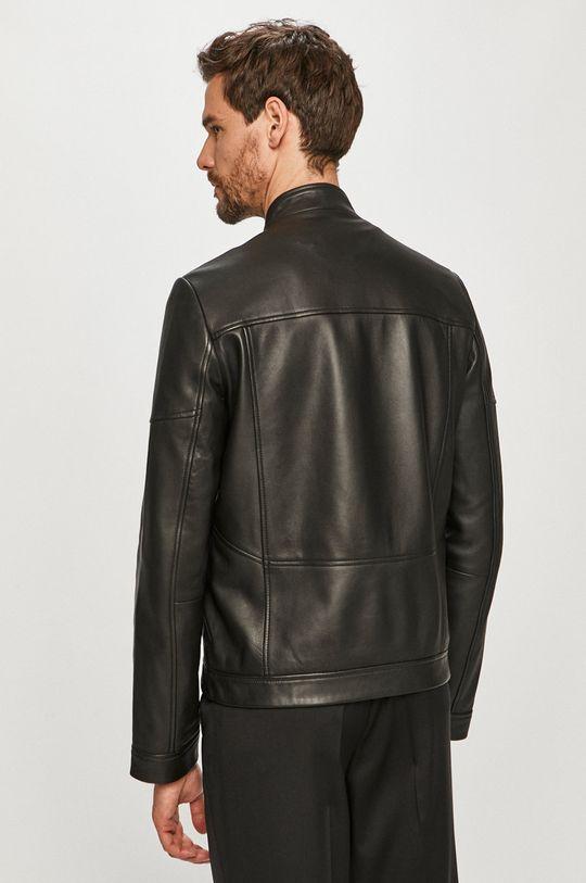 Hugo - Kožená bunda  Podšívka: 54% Polyester, 46% Viskóza Základná látka: 100% Prírodná koža Podšívka rukáva: 100% Polyester