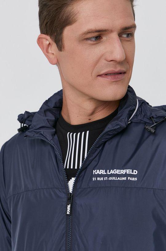 námořnická modř Karl Lagerfeld - Bunda