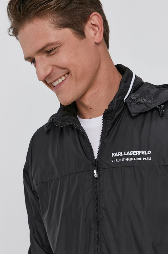 černá Karl Lagerfeld - Bunda