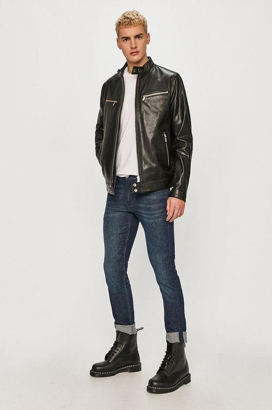 Karl Lagerfeld - Geaca de piele negru