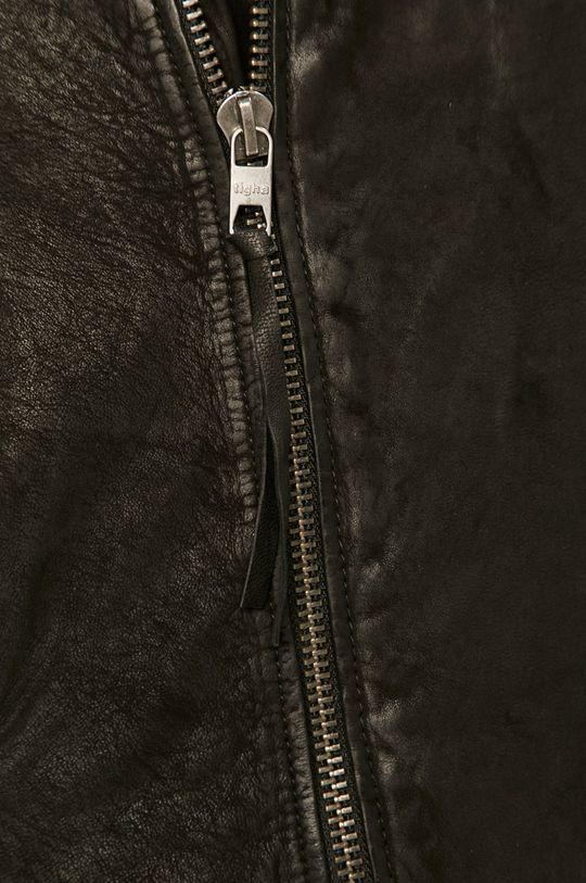 Tigha - Kožená ramoneska Pánský