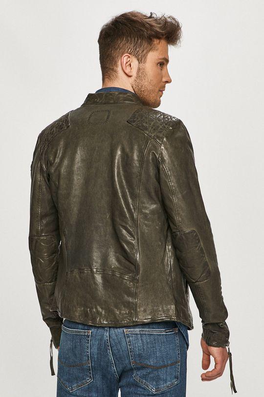 Tigha - Kožená bunda Nero  Podšívka: 100% Bavlna Hlavní materiál: 100% Přírodní kůže