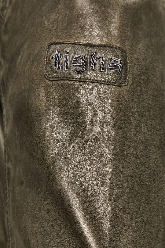Tigha - Kožená bunda Nero Pánský