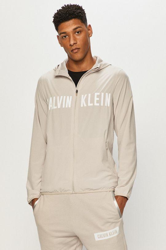 Calvin Klein Performance - Kurtka piaskowy