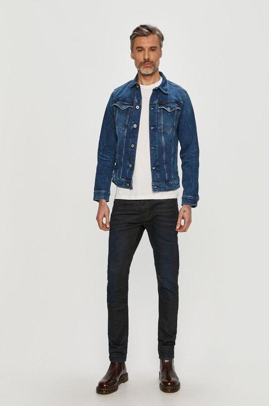 G-Star Raw - Kurtka jeansowa niebieski