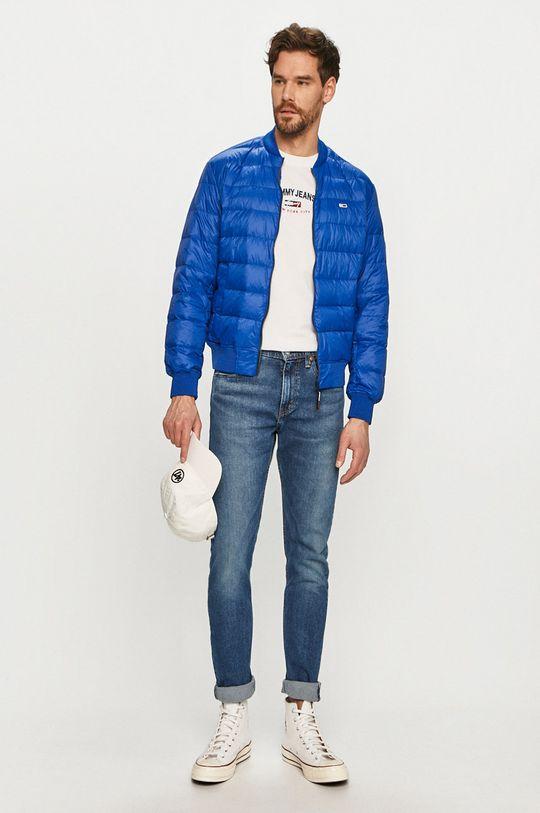 Tommy Jeans - Geaca de puf albastru