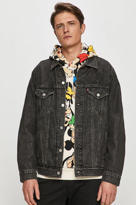 černá Levi's - Džínová bunda x Disney Pánský