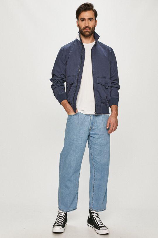 Tommy Jeans - Bunda námořnická modř