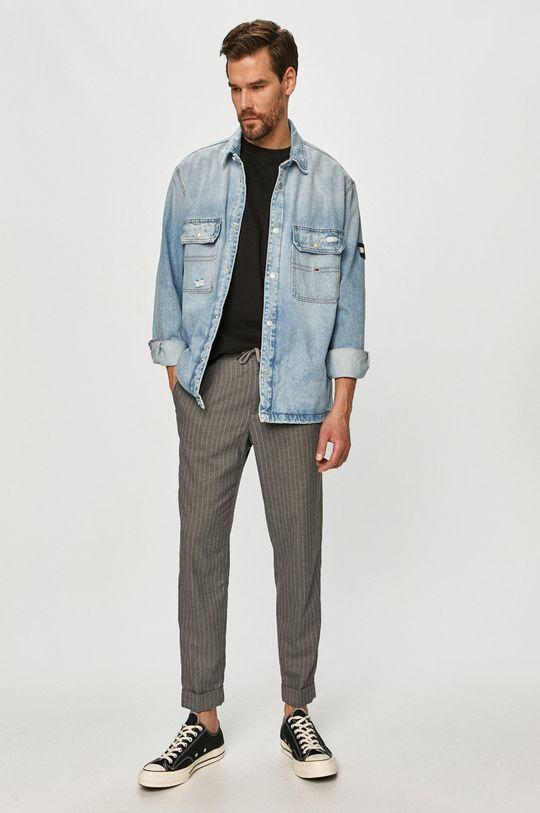Tommy Jeans - Geaca jeans albastru