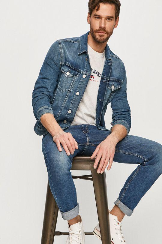 modrá Tommy Jeans - Bunda Pánsky
