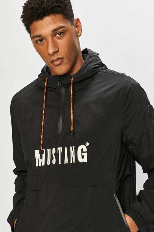 czarny Mustang - Kurtka Męski