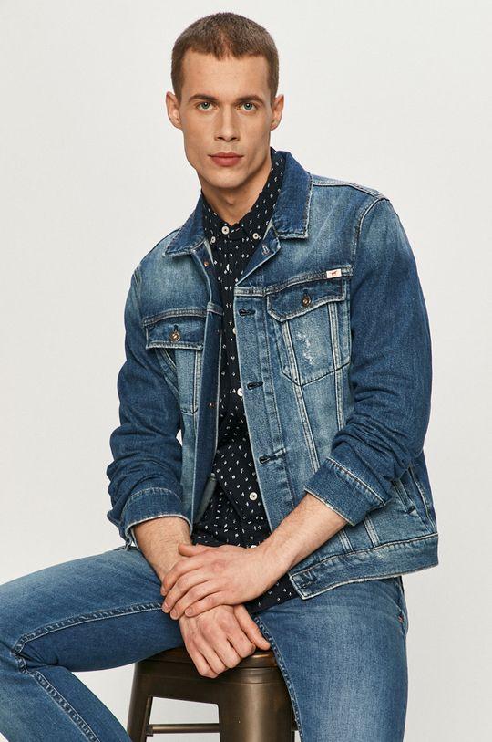 Mustang - Kurtka jeansowa niebieski