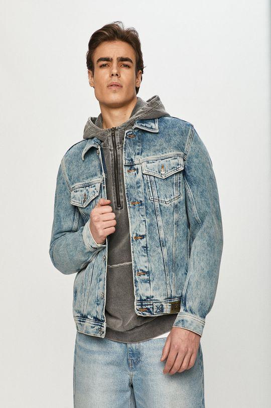 jasny niebieski Diesel - Kurtka jeansowa Męski