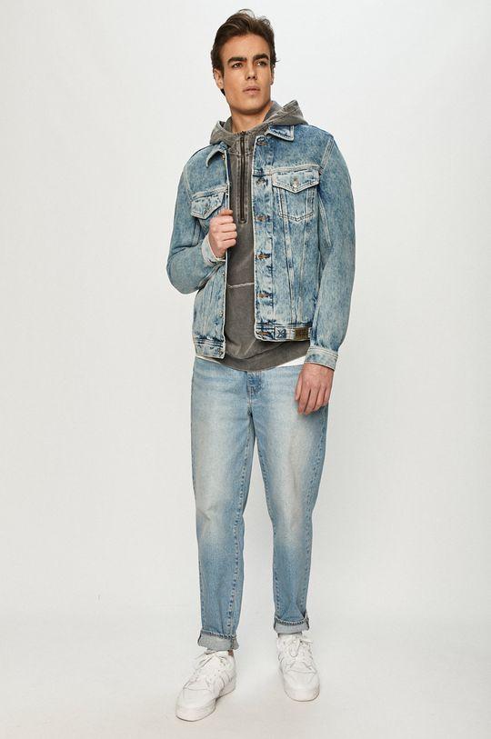 Diesel - Kurtka jeansowa jasny niebieski