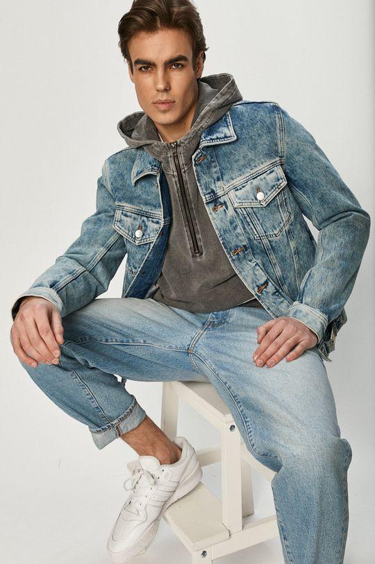 jasny niebieski Diesel - Kurtka jeansowa