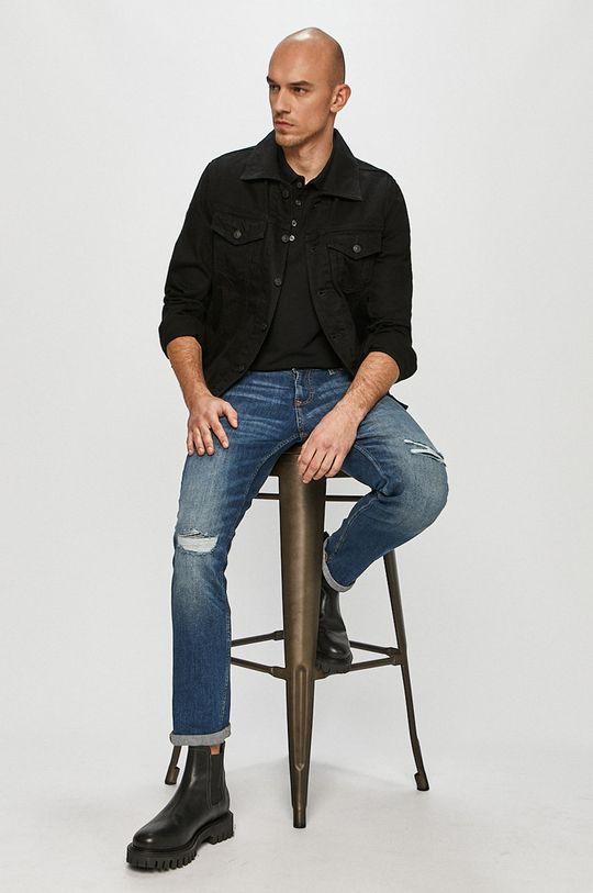 Diesel - Kurtka jeansowa czarny