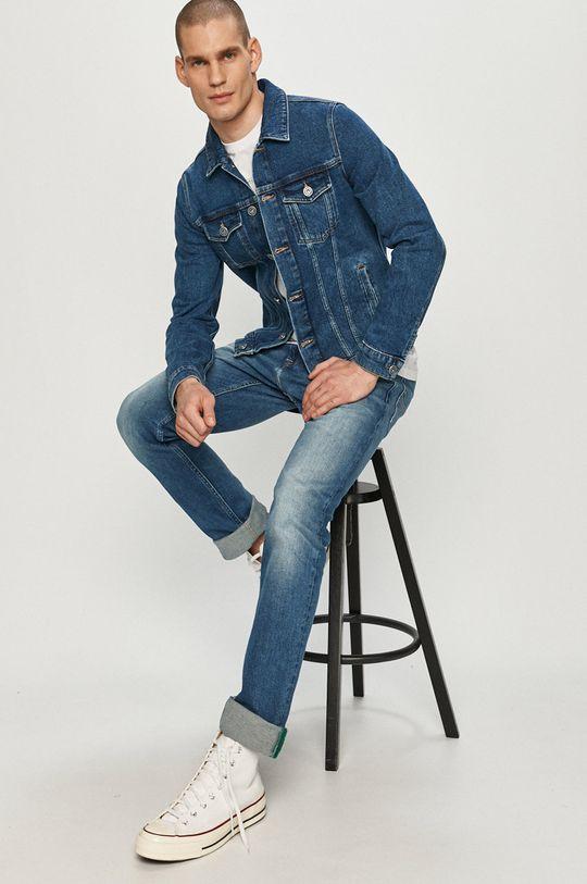 albastru Trussardi Jeans - Geaca jeans De bărbați