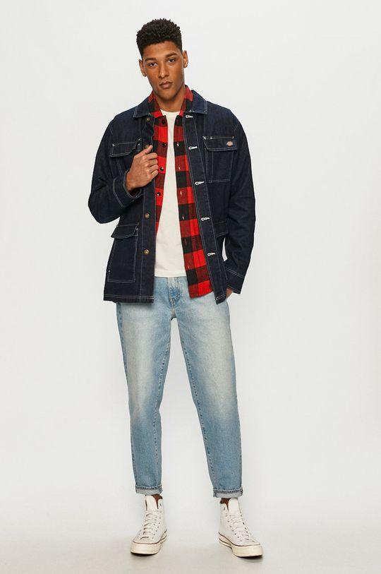 Dickies - Kurtka jeansowa granatowy