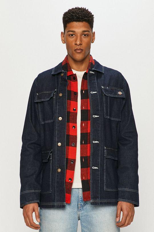 granatowy Dickies - Kurtka jeansowa
