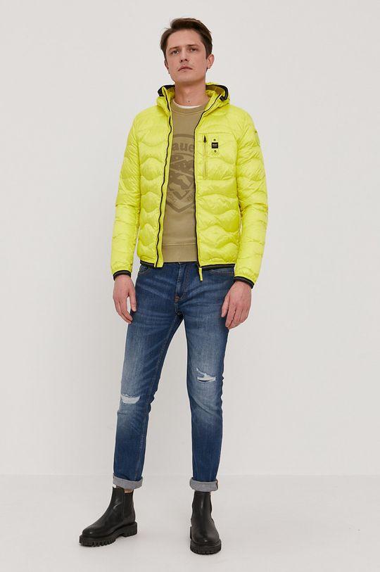Blauer - Péřová bunda žlutá